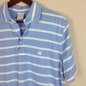 Brooks Brothers Original Feeder Stripe Polo Shirt